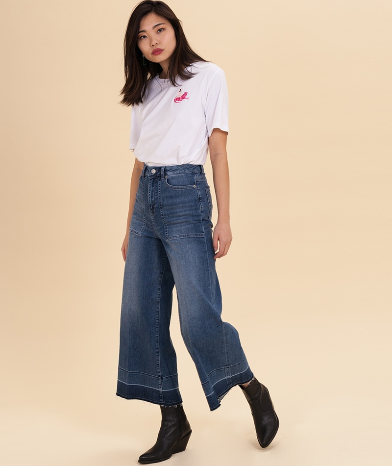 SELECTED FEMME Carry Crop Jeans
