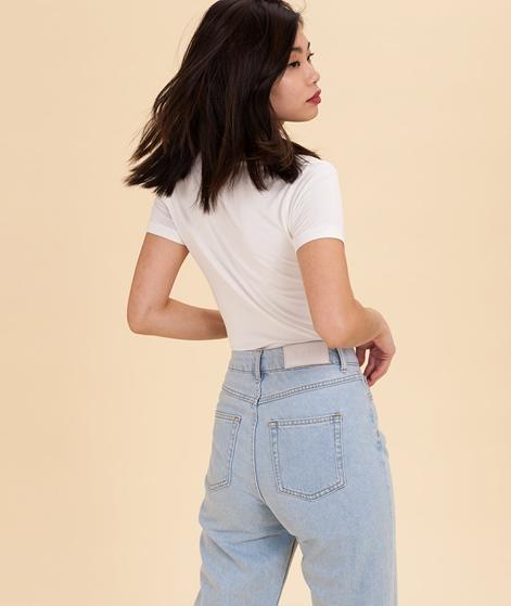 SAMSOE SAMSOE Lila T-Shirt white