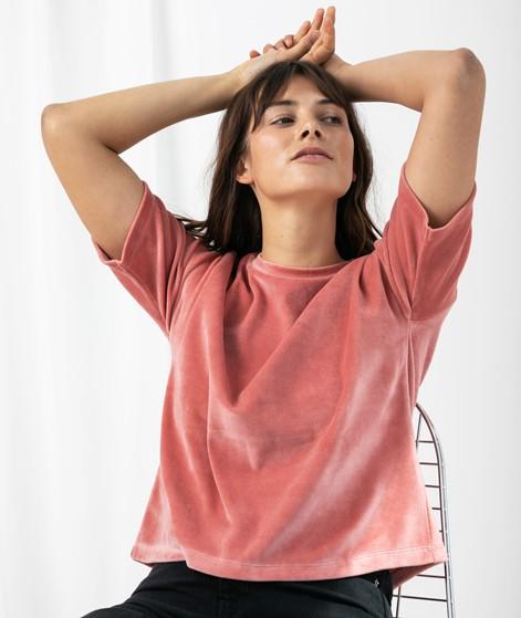 KAUF DICH GLÜCKLICH T-Shirt old rose