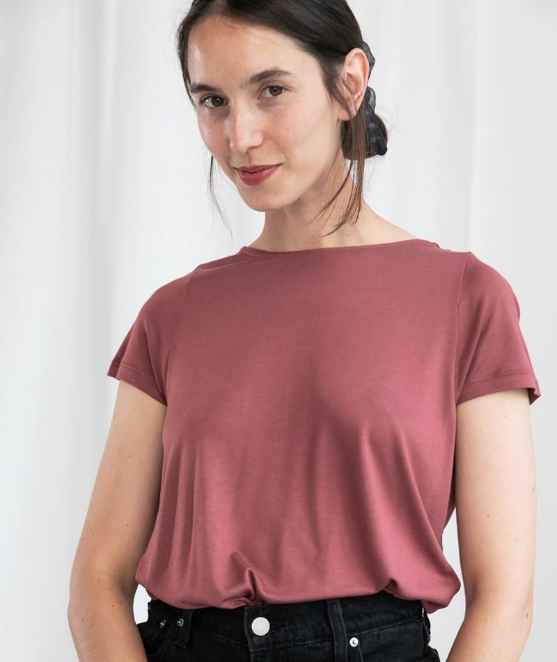 KAUF DICH GLüCKLICH Anne T-Shirt cranberry