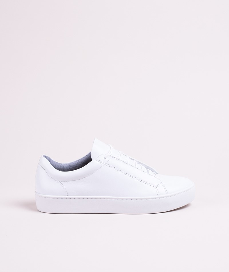 VAGABOND Zoe Leather Sneaker white