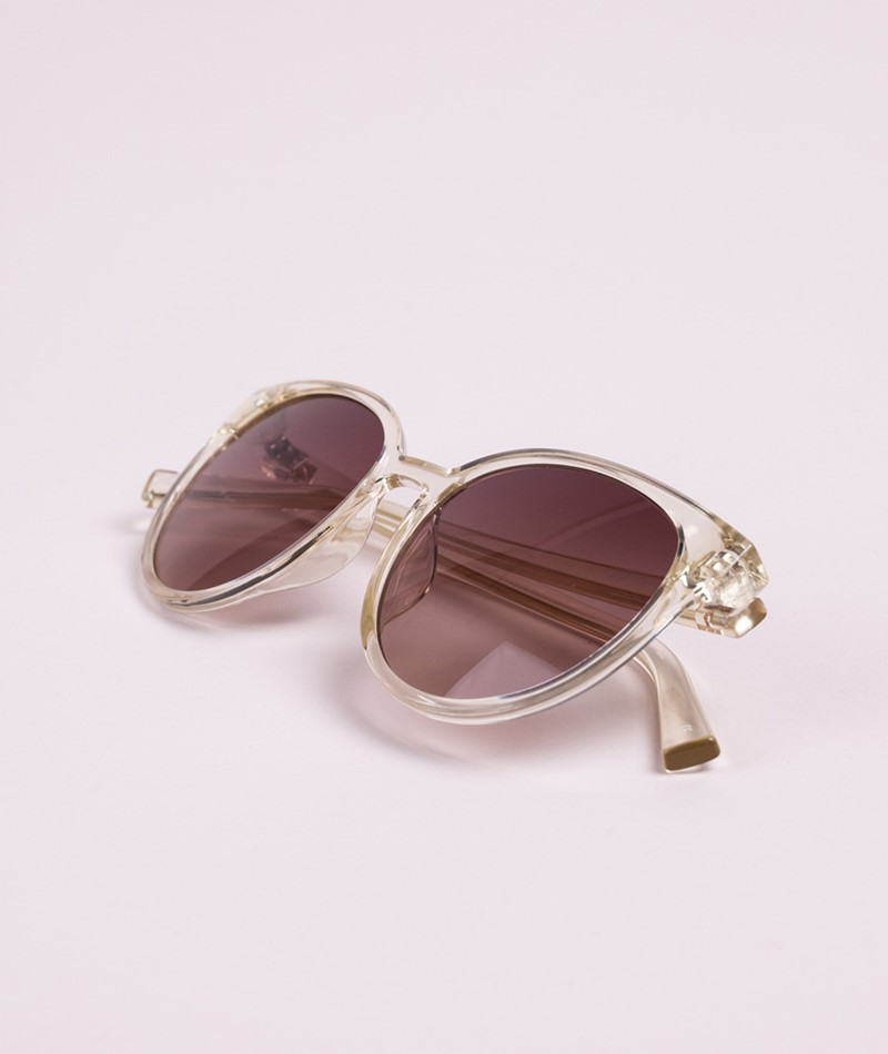 LE SPECS Armada Sonnenbrille Yuzu-Brown Grad