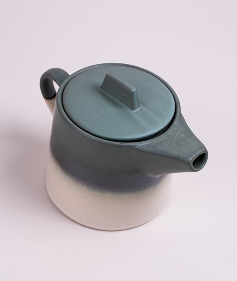 HKLIVING Ceramic 70`s Tea Pot glacier