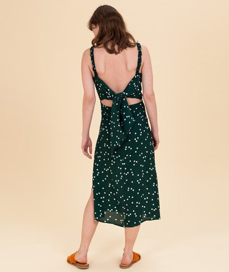 FAITHFULL THE BRAND Gizele Midi Kleid dots