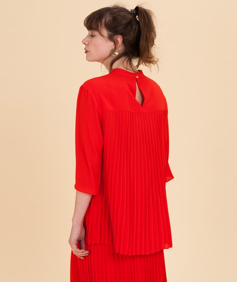 MADS NORGAARD Shelly Bluse warm red