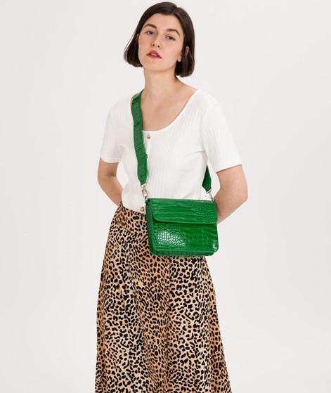 HVISK Cayman Shiny Strap Handtasche green