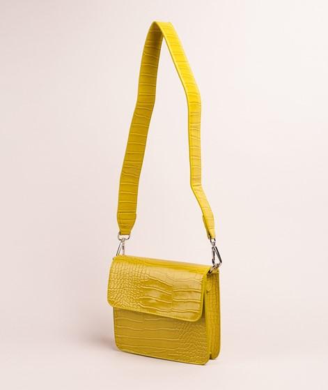 HVISK Cayman Shiny Strap Handtasche chartreuse