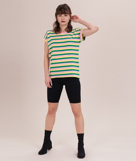 VILA Vidreamers Multi Stripe T-Shirt gol