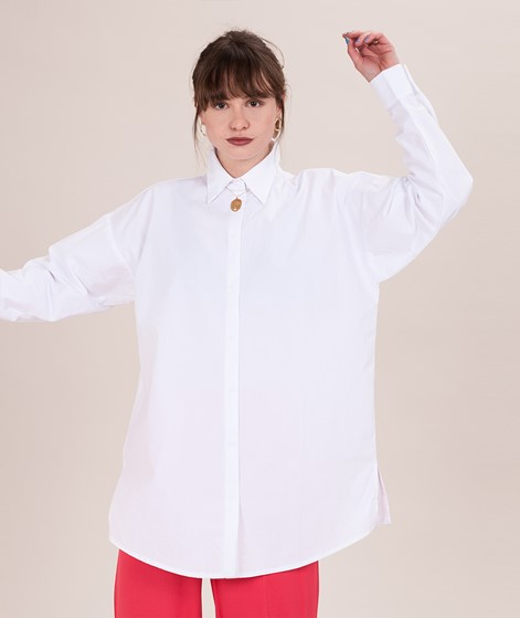 MOVES BY MINIMUM Larienne Bluse white