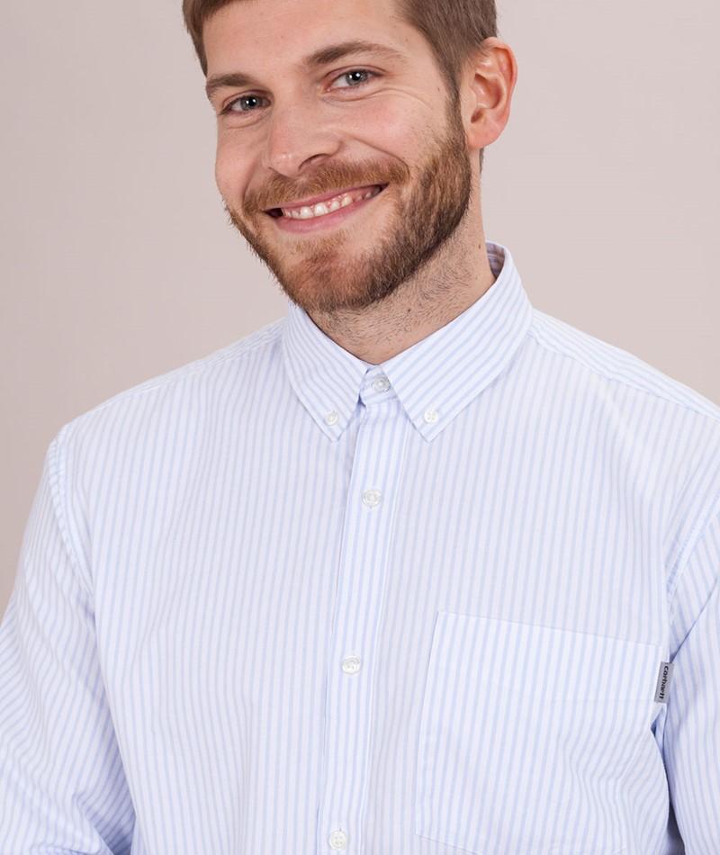CARHARTT WIP Karev Hemd karev stripe