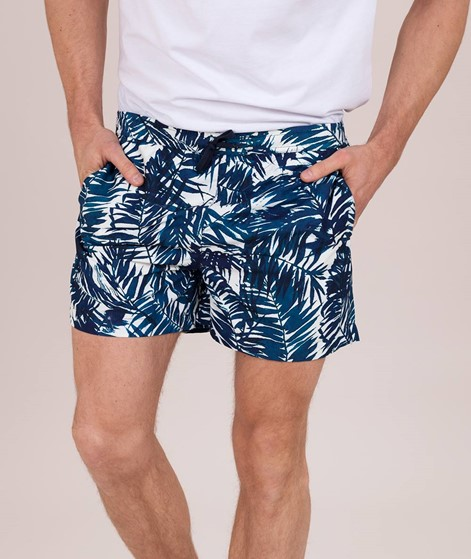 SUIT Swim Shorts print multicolor palm l
