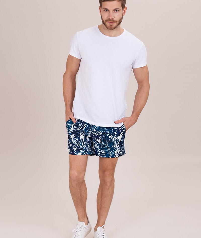 SUIT Swim Shorts print multicolor palm l