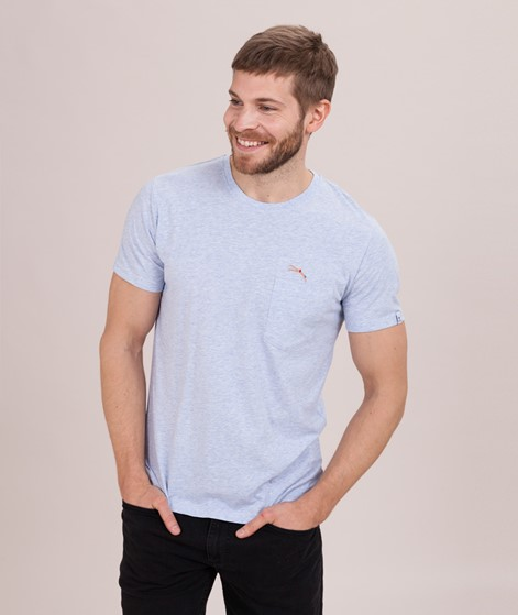 REVOLUTION Sverre Jum T-Shirt blue-mel