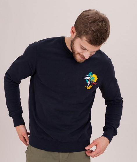 REVOLUTION Eske Sweater navy sun