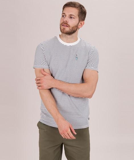 WEMOTO Shake T-Shirt offwhite/navy blue