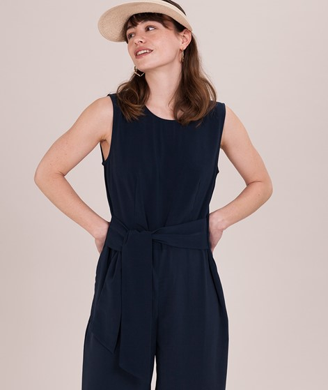 VILA Vinathalia Cropped Jumpsuit eclipse