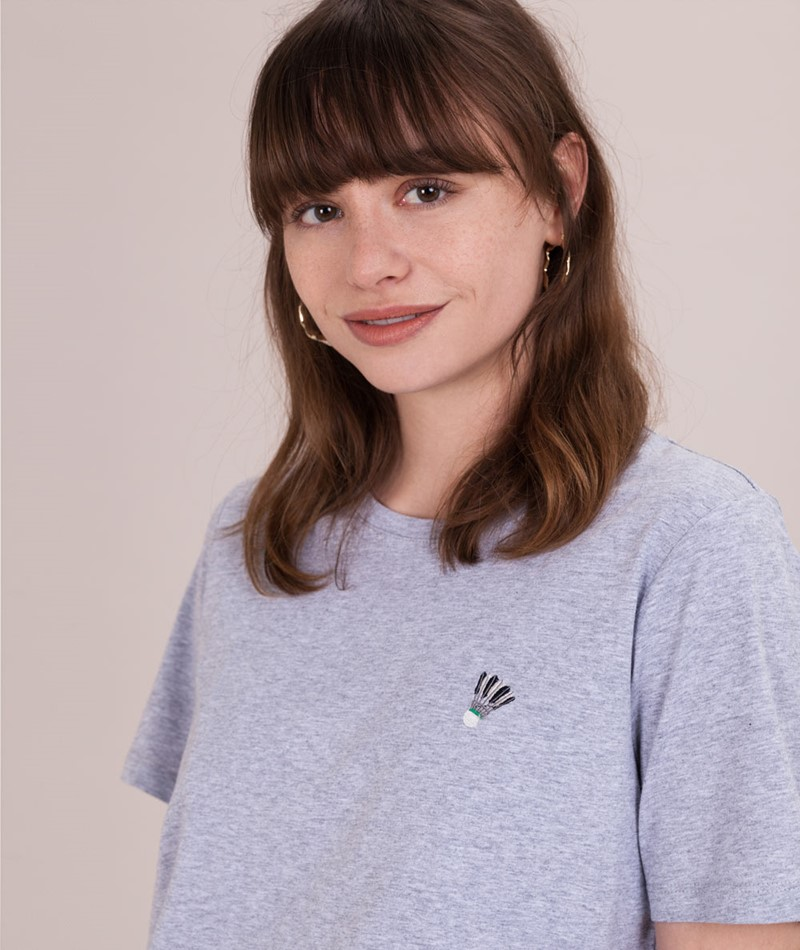 MINIMUM Kimma T-Shirt bright grey melana