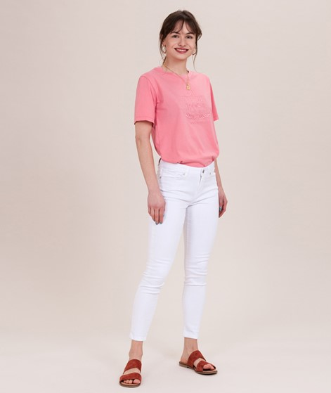 SELECTED FEMME Ida MW Jeans white denim