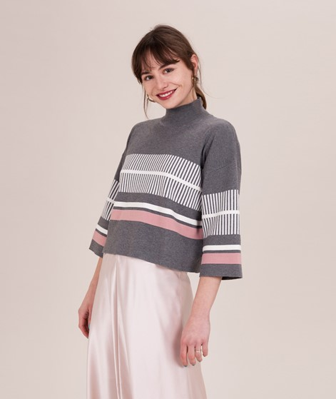 NATIVE YOUTH Noontide Knit Pullover grey