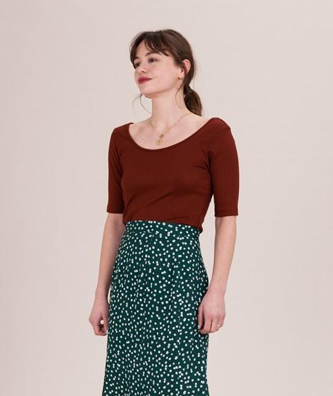 KAUF DICH GLÜCKLICH Nina T-Shirt brick