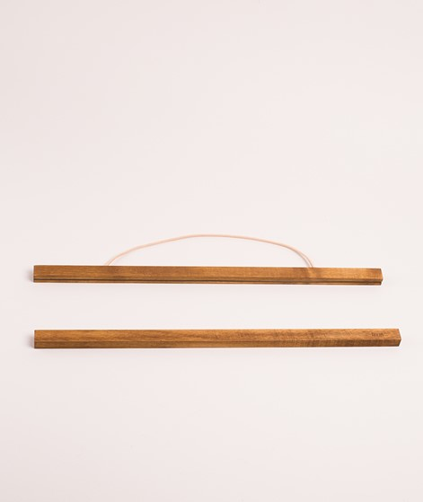 FERM LIVING Wooden Frame smoked oak larg
