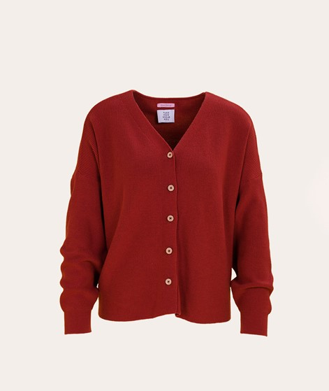 NANDA x KDG Cardigan rusty red