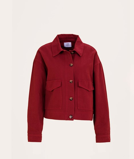 NANDA x KDG Jacke cherry red
