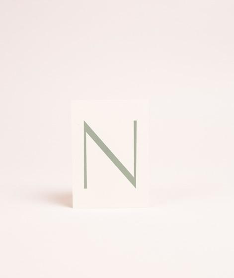 NANDA x KDG Initial Postkarte N