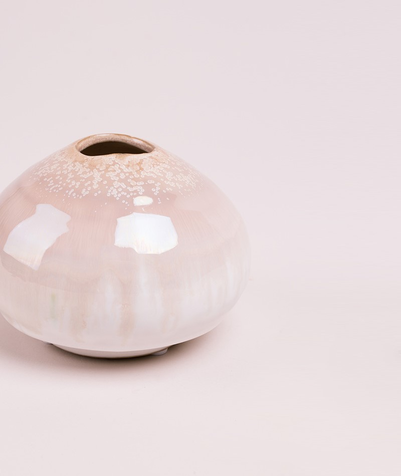 BLOOMINGVILLE Vase Stoneware nature