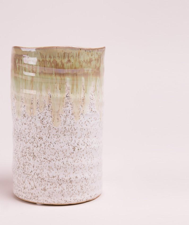 BLOOMINGVILLE Vase Stoneware green