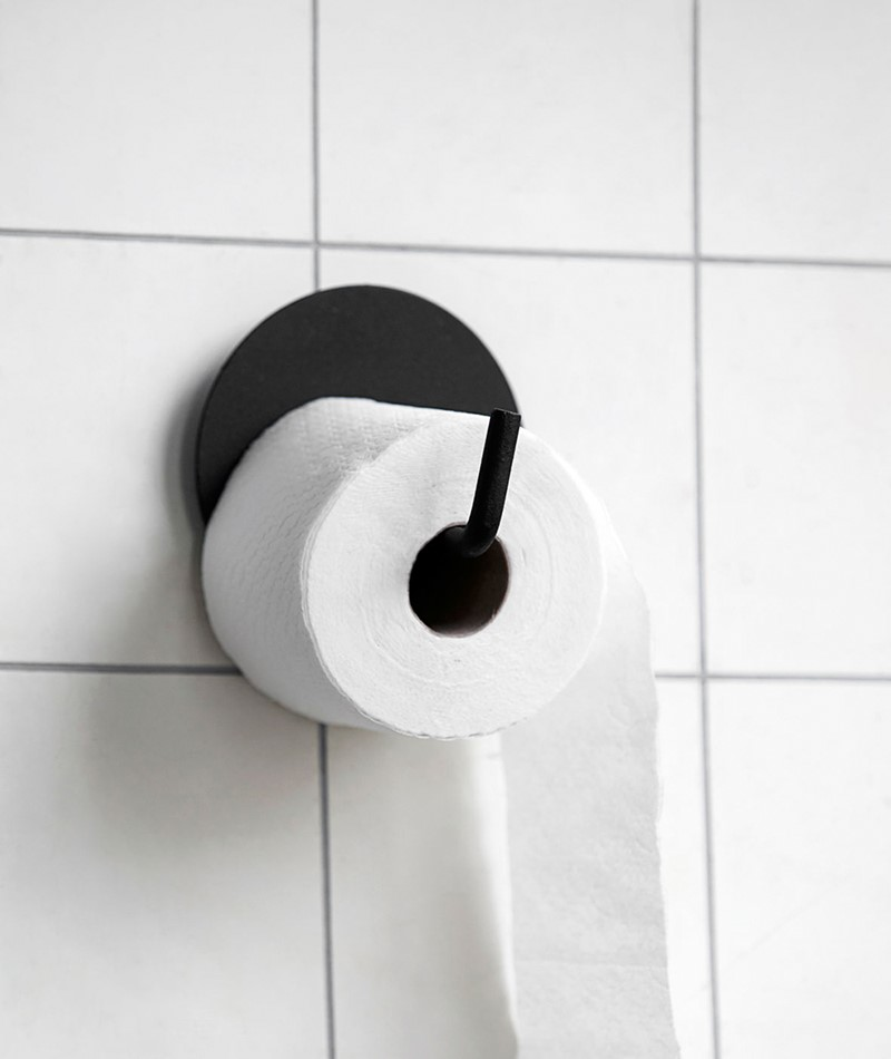 HOUSE DOCTOR Toilettenpapierhalter black