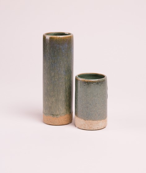 BROSTE Vase Slim chinois tall green