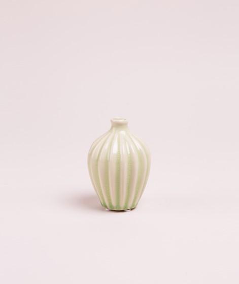 BROSTE Amalie Vase green