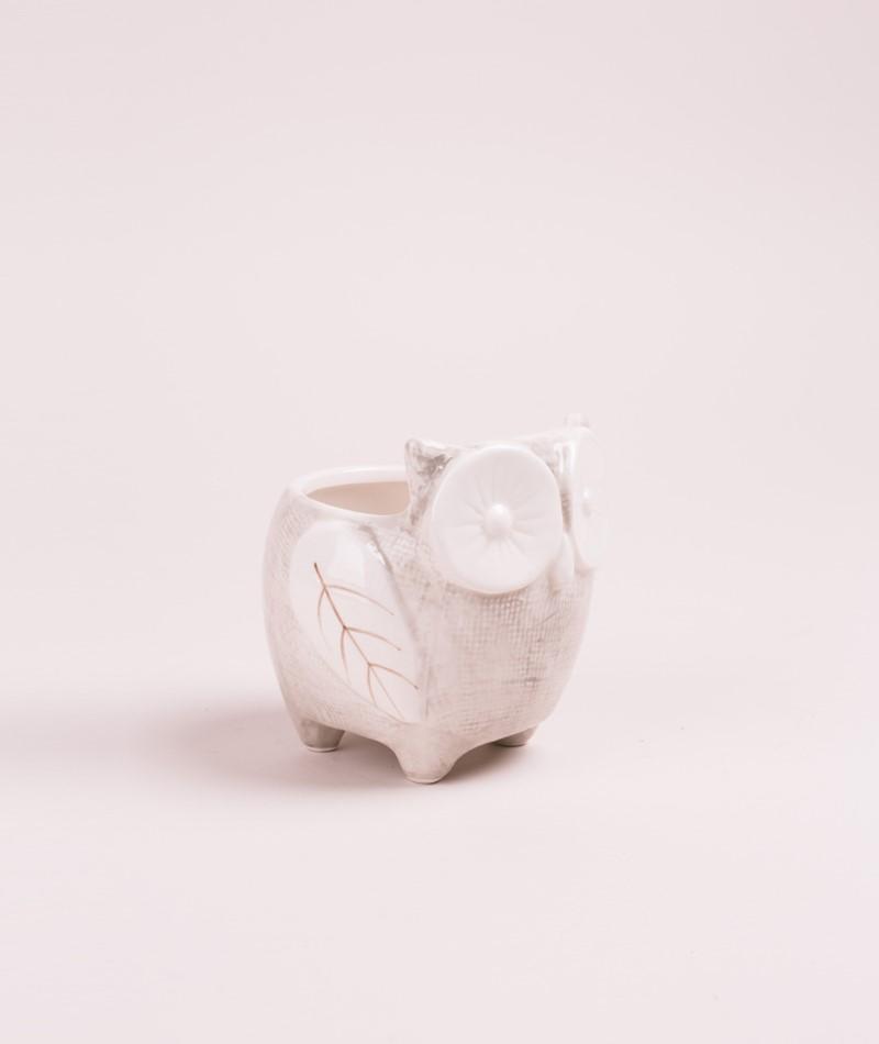 BLOOMINGVILLE Flowerpot white