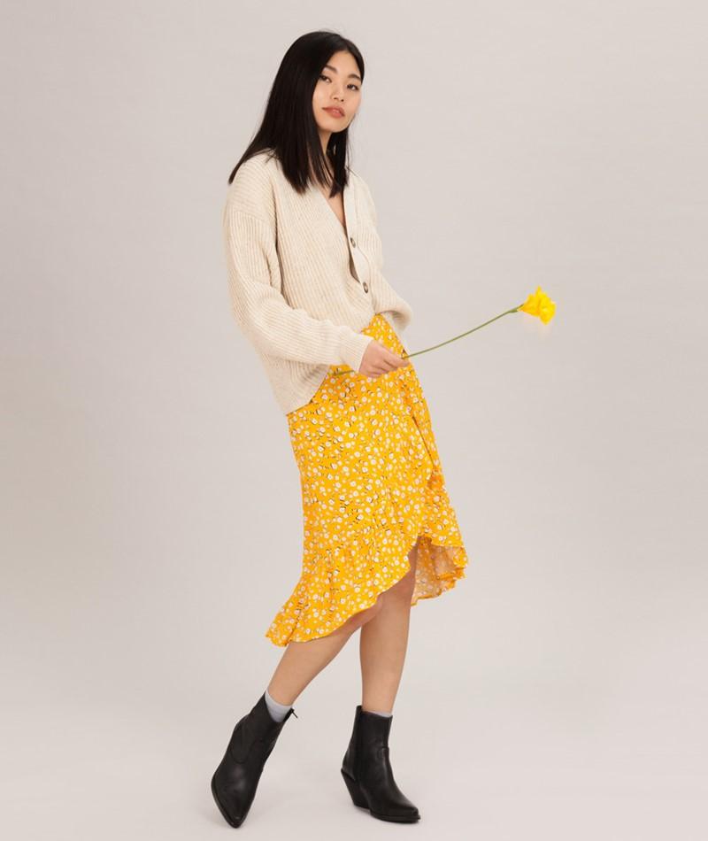 MINKPINK Summer Daisy Wrap Rock golden y