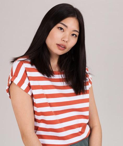 WEMOTO Bell T-Shirt emberglow/white