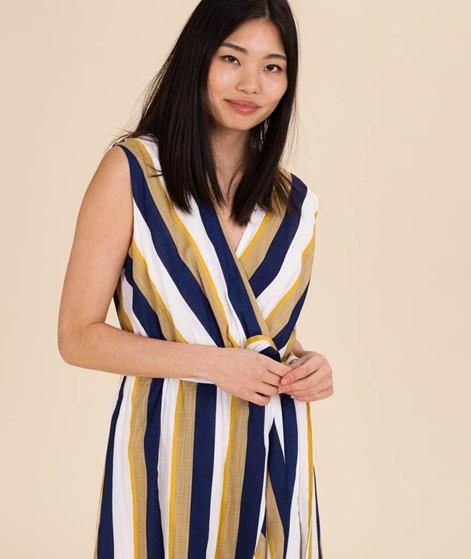 MINKPINK Faux Wrap Midi Kleid multi