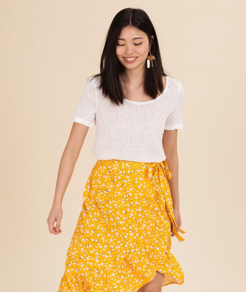 VILA Visumi New Back Lace T-Shirt snow w