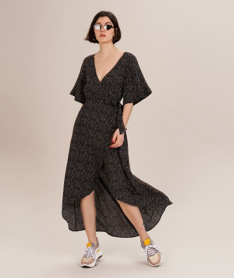 KAUF DICH GLÜCKLICH Maren Kleid schwarz