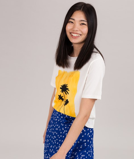 KAUF DICH GLÜCKLICH Lia T-Shirt palm spr
