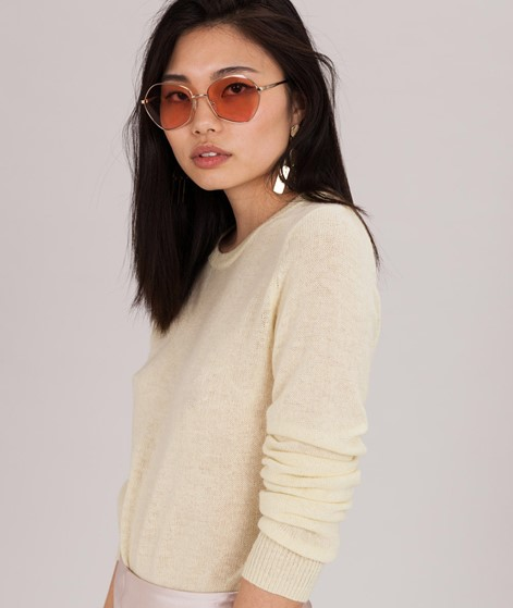 SPARKZ Pure Cashmere O-N Pullover yellow