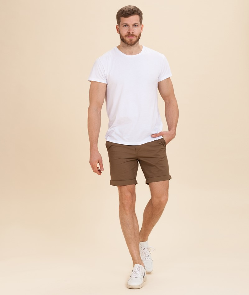 SELECTED HOMME Straight Paris Short camel