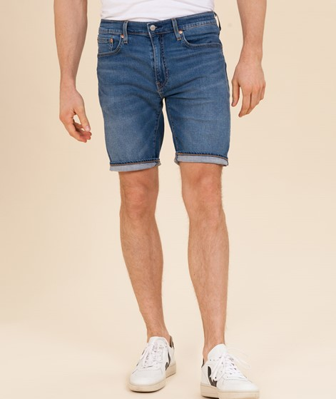 LEVIS 502 Taper Hemmed Shorts blue mercu