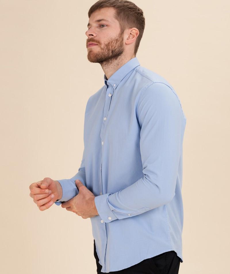 SAMSOE SAMSOE Liam BX Hemd bel air blue