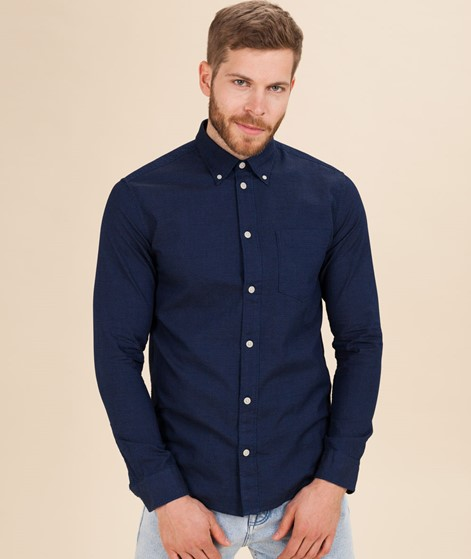 SELECTED HOMME SLHReglandon-P Hemd blue