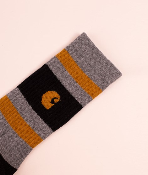 CARHARTT WIP Fairfield Socken dark grey