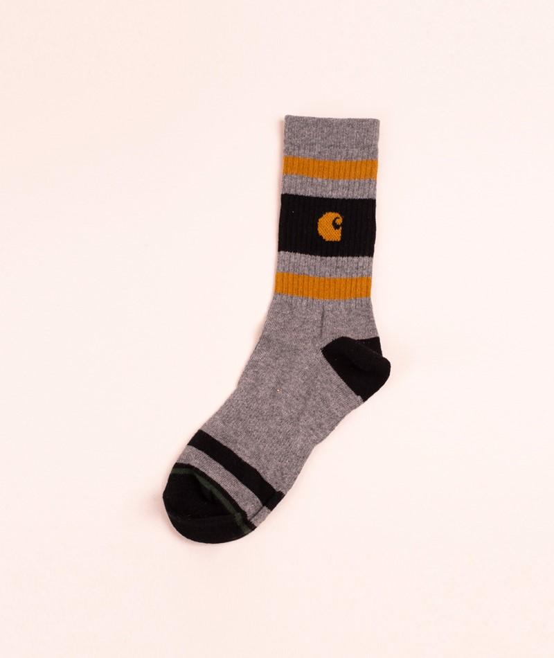 CARHARTT WIP Fairfield Socken dark grey