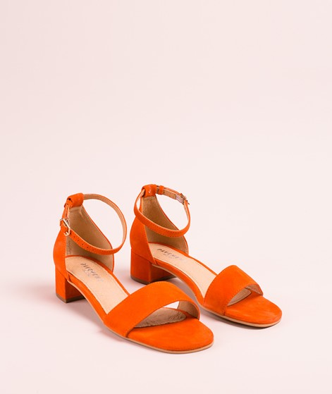 PAVEMENT Lia Sandalette orange suede