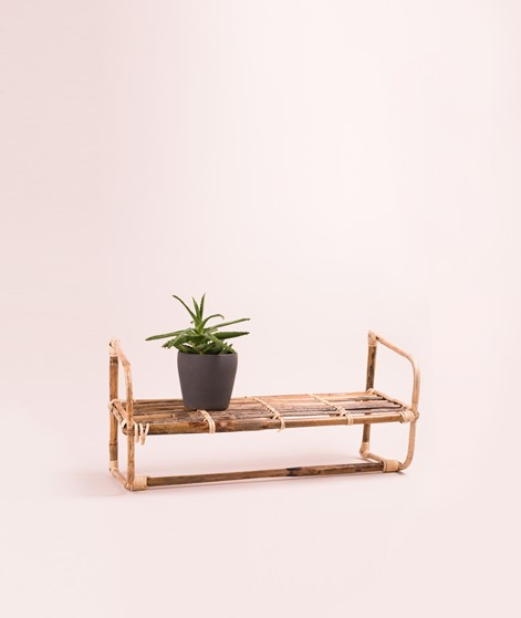 MADAM STOLTZ Hanging bamboo Shelf