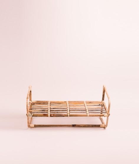 MADAM STOLTZ Hanging bamboo Shelf